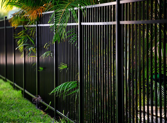 Aluminum fencing in South Florida